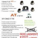 Kit DVR 4 Canales con 4 Camaras infrarrojas