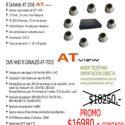 Kit DVR 8 Canales con 8 Camaras Infrarrojas